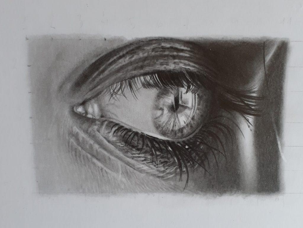 desenho olho 2 1 1024x769 - Desenhar Fácil em 4 Passos -  para iniciantes