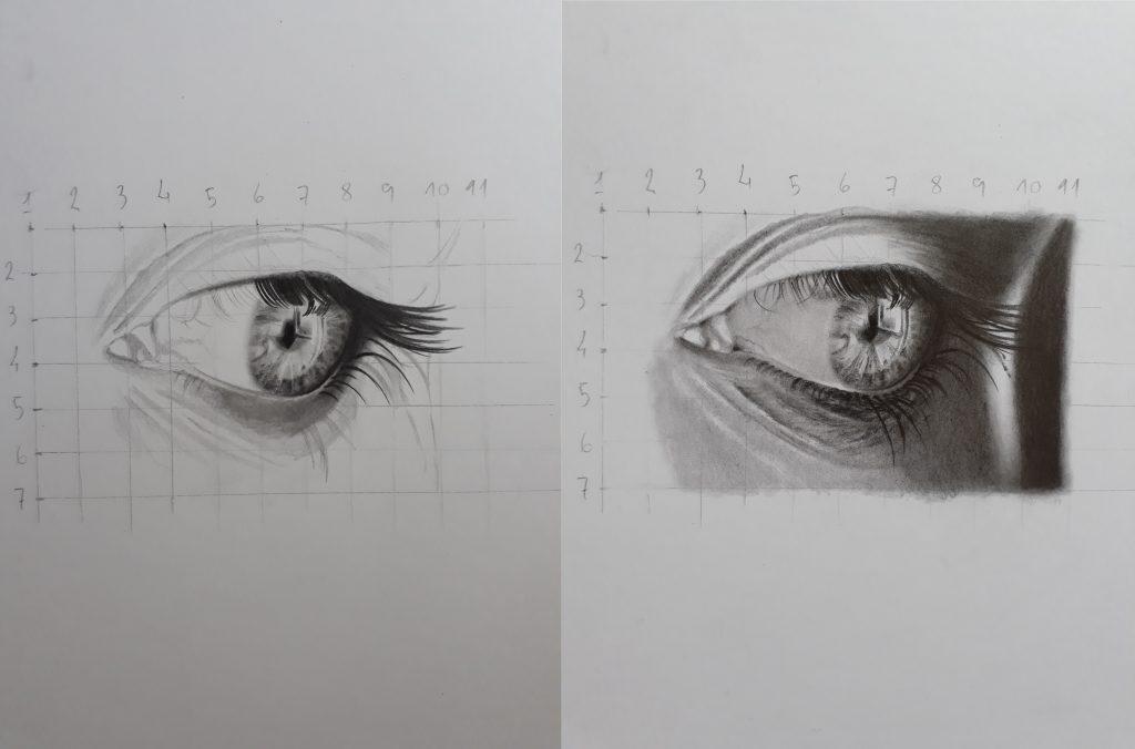 olho post 1 desenvolvimento 1024x676 - Desenhar Fácil em 4 Passos -  para iniciantes