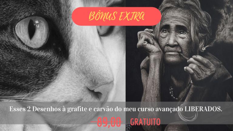 BÔNUS EXTRA 1 1024x576 1 768x432 - CURSO DE DESENHO REALISTA PARA INICIANTES