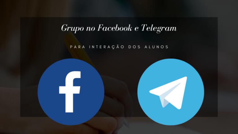Grupo no Facebook e Telegram 1024x576 1 768x432 - CURSO DE DESENHO REALISTA PARA INICIANTES