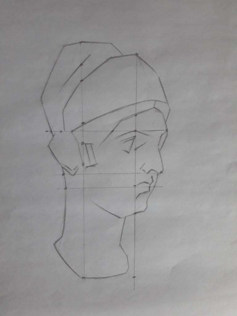 aprender a desenhar ligando pontos 768x1024 - Aprender a desenhar: esboço, uma etapa essencial