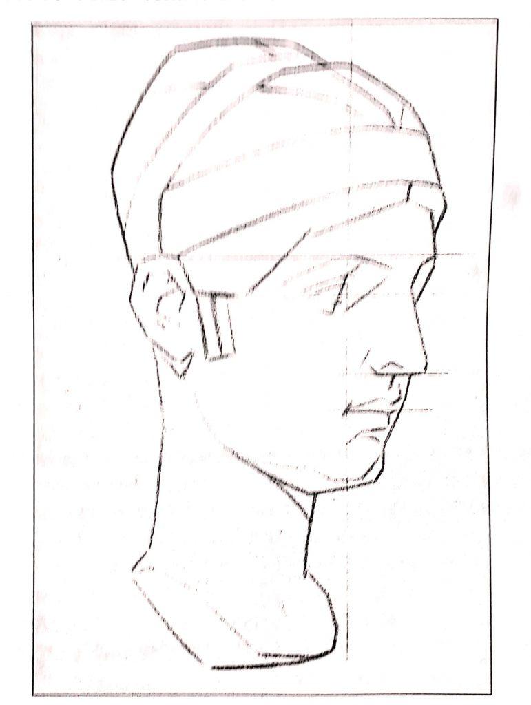 aprender a desenhar modelo bargue 771x1024 - Aprender a desenhar: esboço, uma etapa essencial