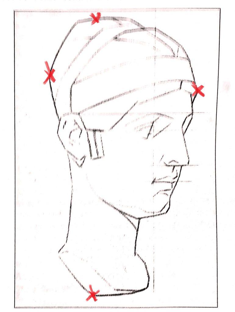 aprender a desenhar modelo bargue com pontos 771x1024 - Aprender a desenhar: esboço, uma etapa essencial