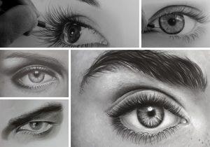como desenhar olhos 1 300x210 - O Caminho da Arte