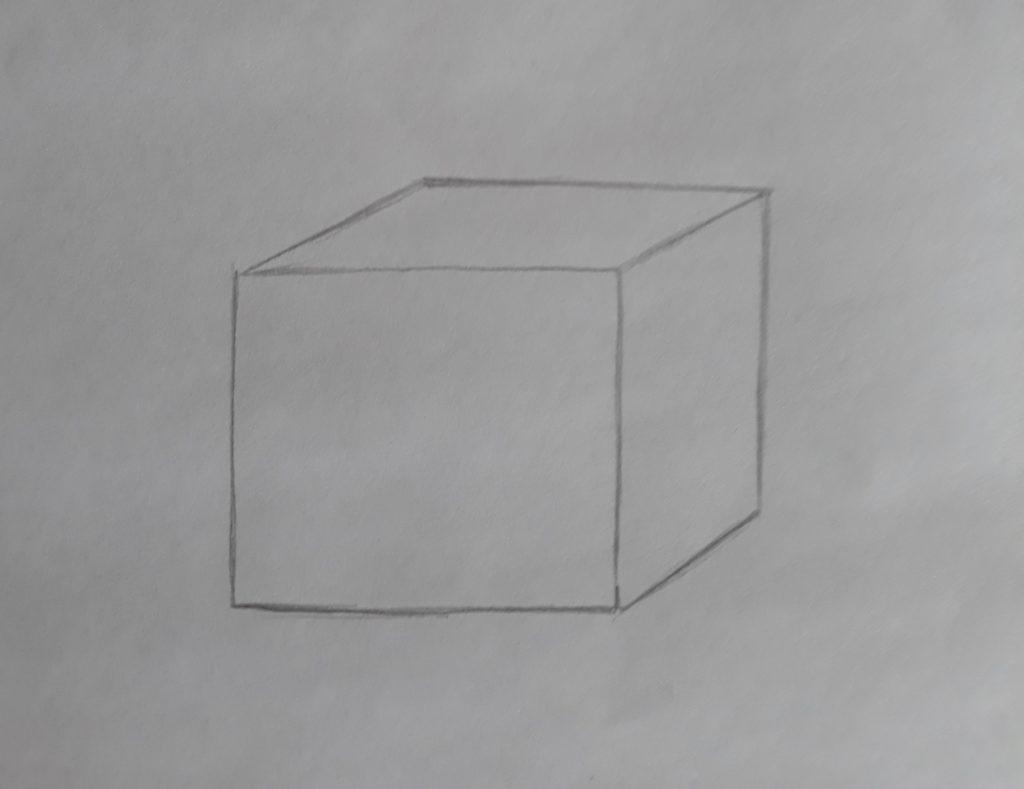 cubo 1024x789 - Desenhar 3D - Técnicas iniciais, Guia Definitivo