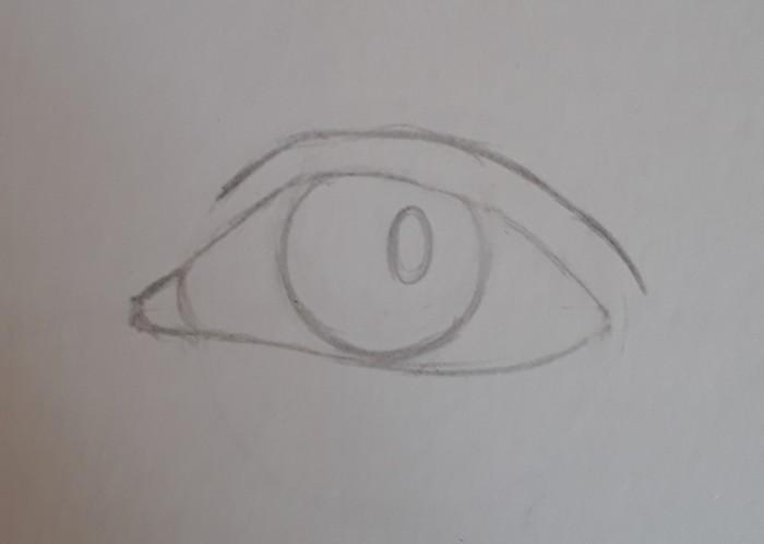 desenhando olho passo 10 - Como desenhar um olho num piscar de olhos