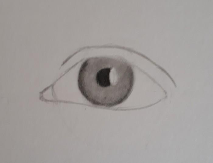 desenhando olho passo 15 - Como desenhar um olho num piscar de olhos