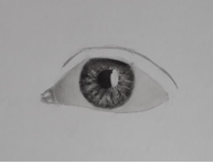 desenhando olho passo 20 - Como desenhar um olho num piscar de olhos