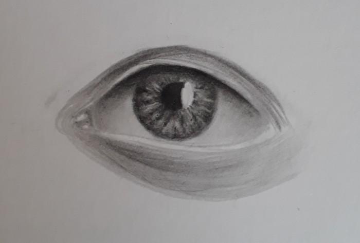 desenhando olho passo 25 - Como desenhar um olho num piscar de olhos