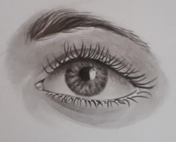 desenhando olho passo 31 - Como desenhar um olho num piscar de olhos