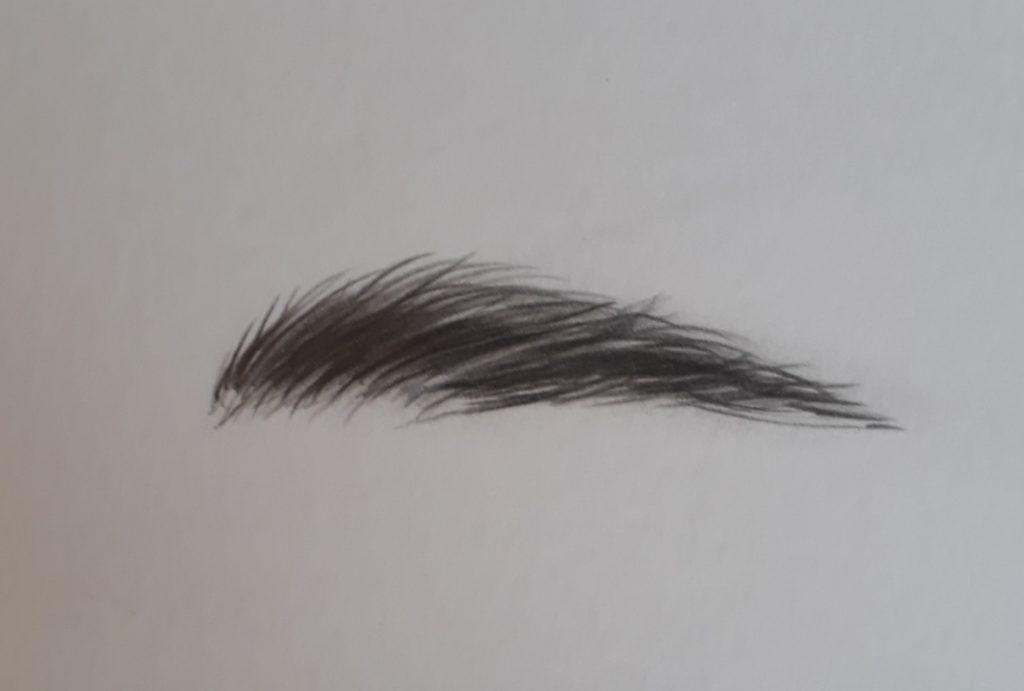 desenhando sobrancelha final 1024x691 - Como desenhar um olho num piscar de olhos