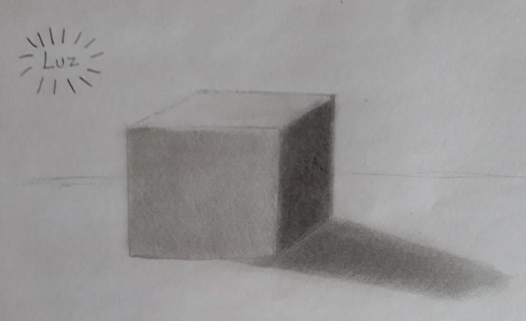 desenhar 3d cubo 1024x626 - Desenhar 3D - Técnicas iniciais, Guia Definitivo