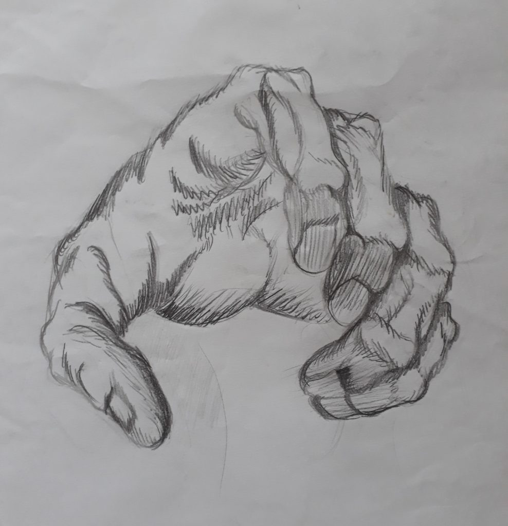 desenhar preto e branco desenho estilizado 988x1024 - Desenhar preto e branco - as 3 Principais Formas