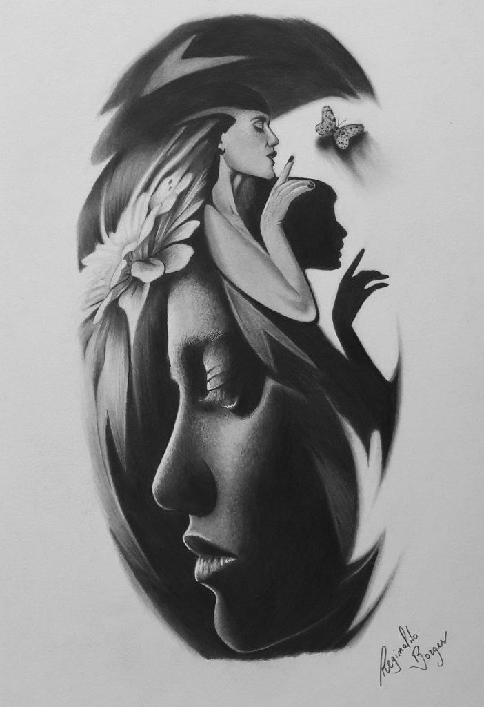 desenho de tatuagem curso de desenho 702x1024 - CURSO DE DESENHO REALISTA PARA INICIANTES