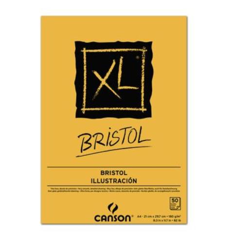 papel canson xl bristol para desenhos realistas - Material para desenho realista: 13 principais materiais