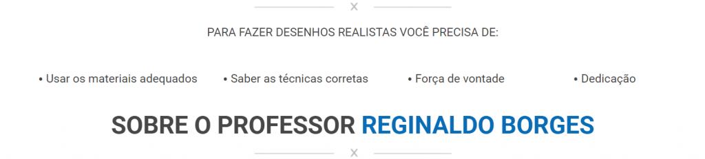 reginaldo borges curso 1024x232 - CURSO DE DESENHO REALISTA PARA INICIANTES