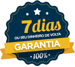 selo de garantia 7 dias - CURSO DE DESENHO REALISTA PARA INICIANTES