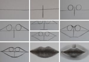 como desenhar boca 300x210 - O Caminho da Arte