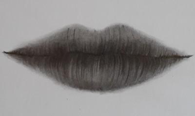 como desenhar boca passo 10 1 - Como desenhar boca em 11 passos - tutorial rápido e fácil