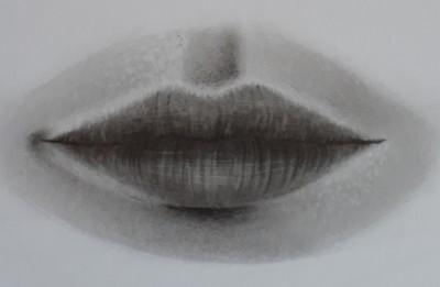 como desenhar boca passo 11 - Como desenhar boca em 11 passos - tutorial rápido e fácil