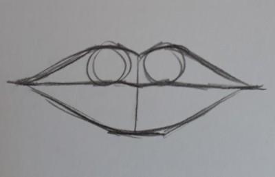 como desenhar boca passo 8 - Como desenhar boca em 11 passos - tutorial rápido e fácil