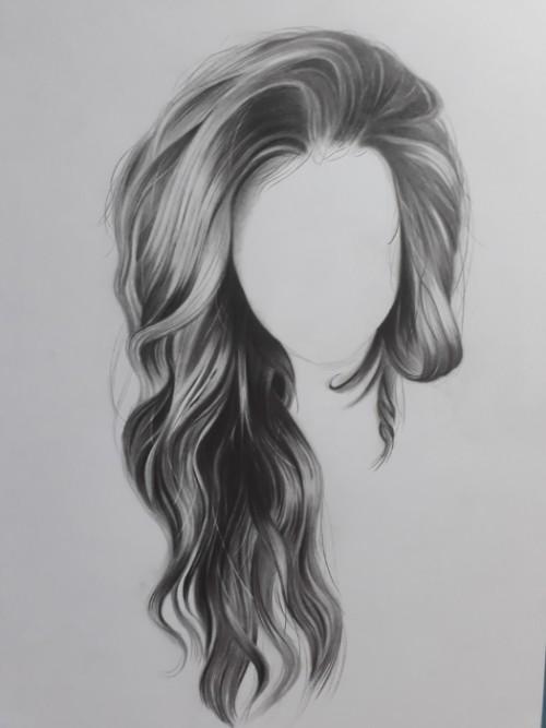 como desenhar cabelo 5 2 - Como desenhar cabelo realista sem dificuldade