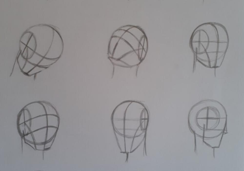 como desenhar rosto