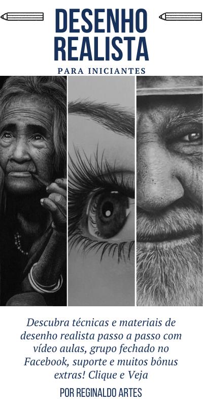 curso de desenho realista 1 - Curso de desenho realista Reginaldo Artes - análise completa