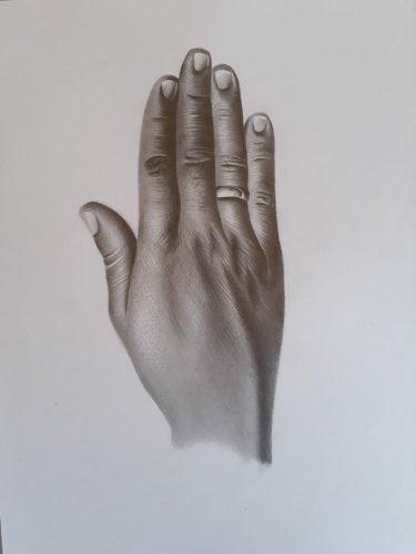 desenho de mão rotated - Coisas para Desenhar: 5 ideias + 265 inspirações