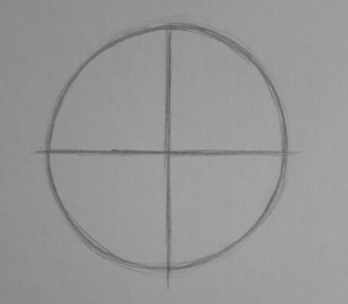 como desenhar rosto 2 - Como desenhar rosto - tutorial método Loomis parte 2