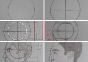 como desenhar rostos com metodo de loomis parte 2 300x210 - O Caminho da Arte