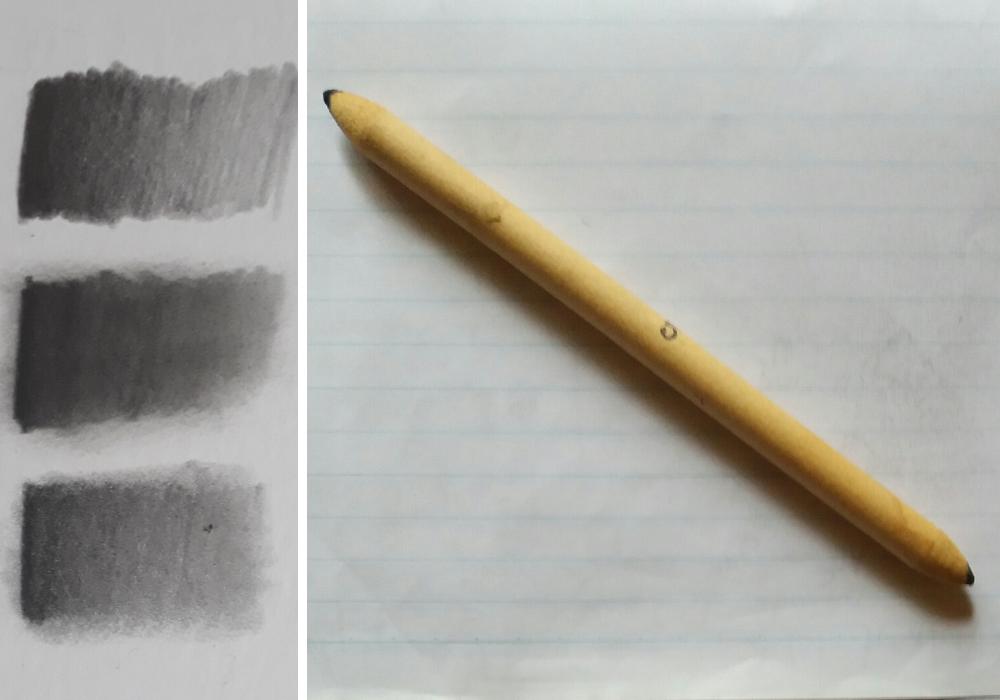 como usar esfuminho no desenho realista