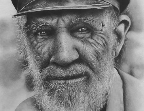 desenho realista rosto masculino - Curso de desenho realista Reginaldo Artes - análise completa