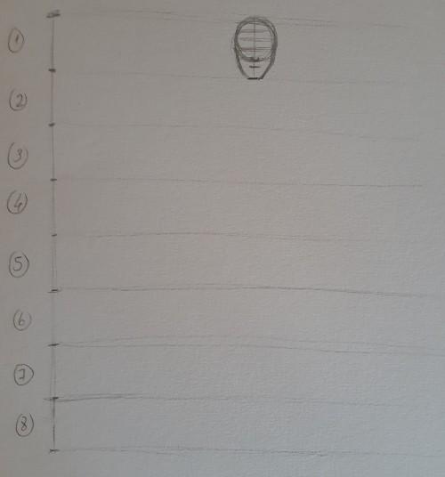 desenhar corpo passo 1 - Como desenhar o corpo humano em 8 etapas rápidas