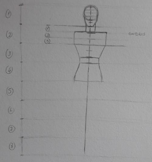 desenhar corpo passo 4 - Como desenhar o corpo humano em 8 etapas rápidas