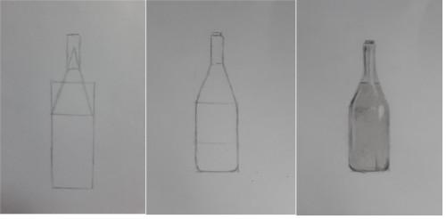 desenho esboço garrafa - 7 dicas indispensáveis para desenhar rápido - garantido