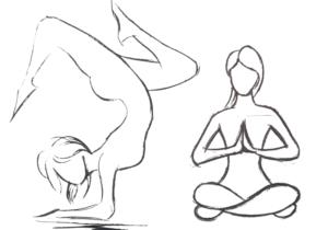 desenho gestual 300x210 - O Caminho da Arte