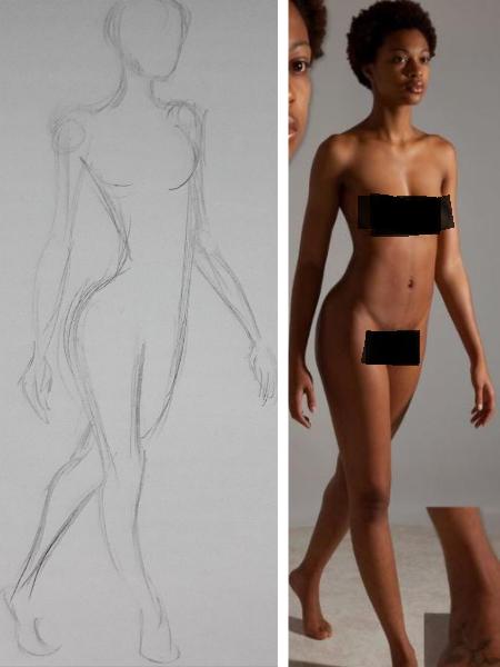 desenho gestual exemplo - 5 dicas rápidas para fazer desenho gestual