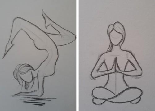 desenho gestual yoga - 5 dicas rápidas para fazer desenho gestual