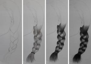 como desenhar trança 300x210 - O Caminho da Arte