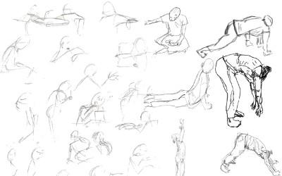 dica de desenho desenho gestual - Dicas de desenho - 19 dicas para desenho rápidas