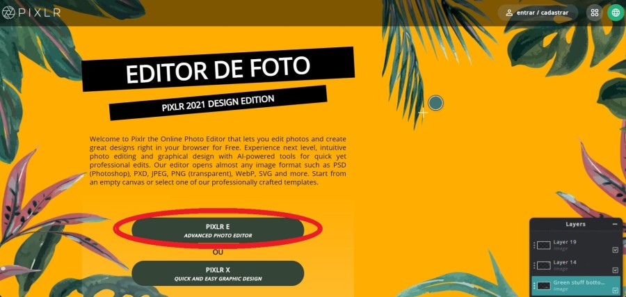 pixlr interface - Como ganhar dinheiro com arte - Print on Demand funciona?