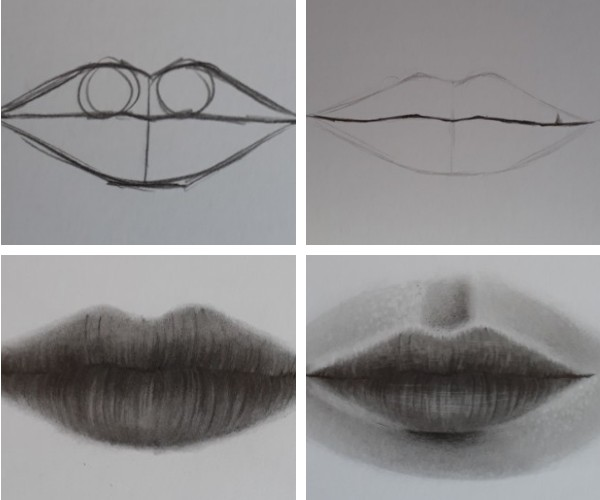 como desenhar boca - Desenhar Passo a Passo: principais etapas de aprendizado