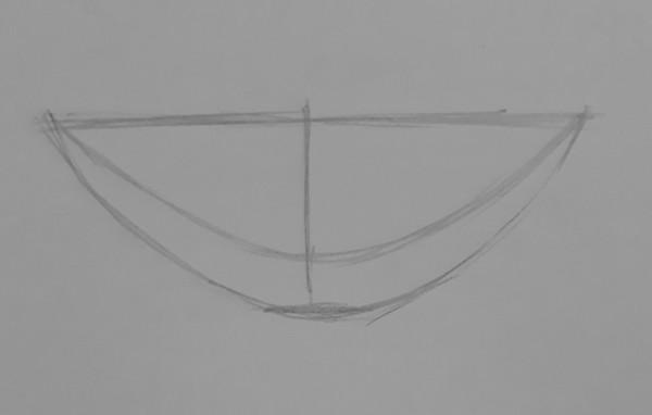 como desenhar dentes 2 - Como desenhar um dente realista - rápido, fácil e simples