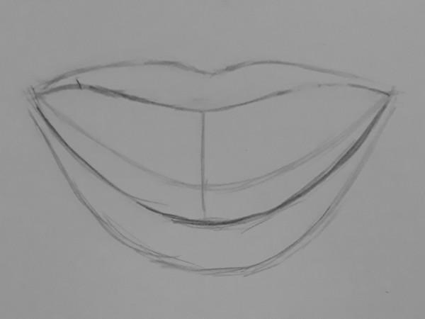 como desenhar dentes 3 - Como desenhar um dente realista - rápido, fácil e simples