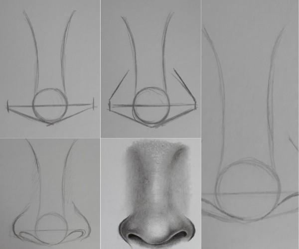 como desenhar nariz 1 - Desenhar Passo a Passo: principais etapas de aprendizado