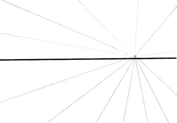 Horizon Line And Vanishing Point - 6 dicas de como desenhar paisagem - fácil e descomplicado