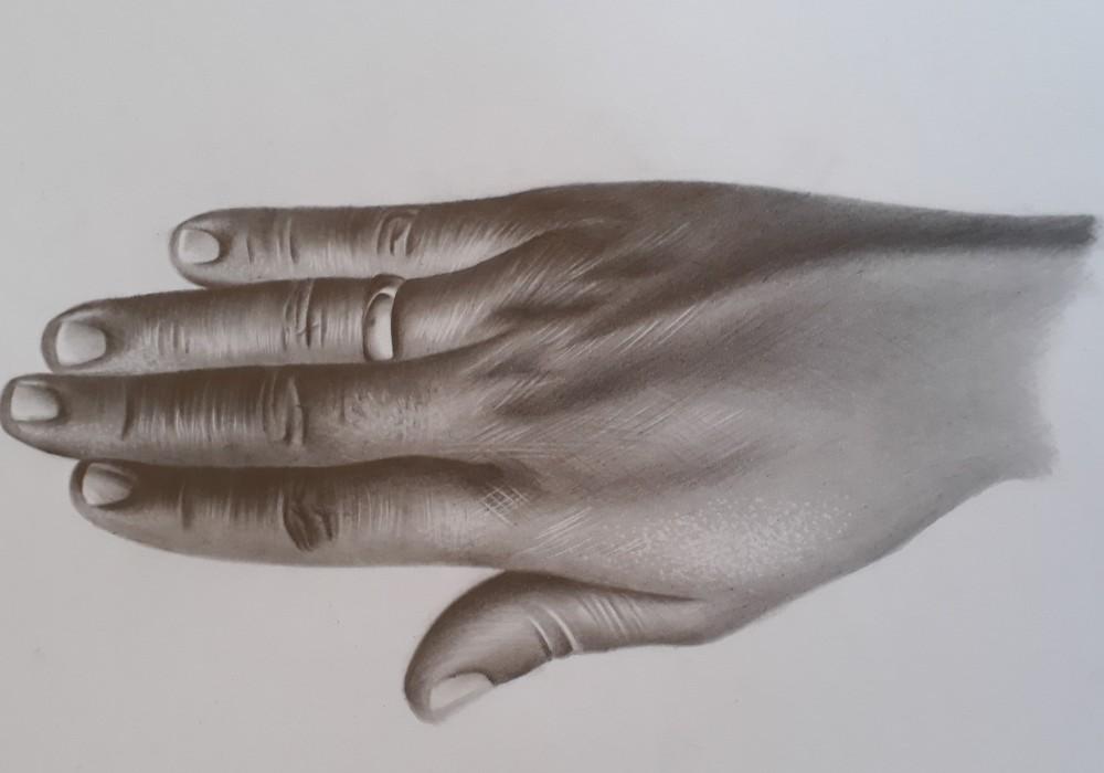 como desenhar textura de pele